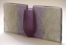 """VASE #2"", kiln-cast Height 18cm - Sold"