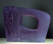 """""""WINDOW"""", kiln-cast Height 26cm - Sold"""