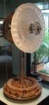 Protea kiln-cast glass, steel Height 72cm - Sold